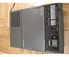 contestador telefonico panasonic easa phono con trafo y 2 cassettes