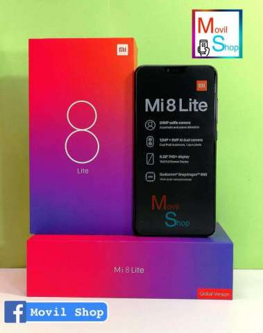 Xiaomi Mi 8 Lite 64gb4 Gb Ram (SOLO EFECTIVO)