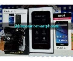 Blu Studio J8 Nuevos Y Libres Sensor Hue