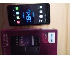 Celular Philips Huella 2 Giga Ram Nuevo