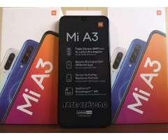 XIAOMI MI A3 NUEVOS 64GB/4GB, TRIPLE CAMARA 48MPX !! ACEPTO CELULAR Y EFECTIVO