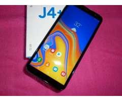 samsung j4 plus 32gb libre como nuevo garantia