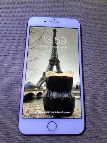 iPhone 7 Plus 128Gb Rojo Solo Vendo