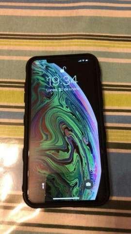 Iphone Xs Max Negro 2 Meses De Uso!!!