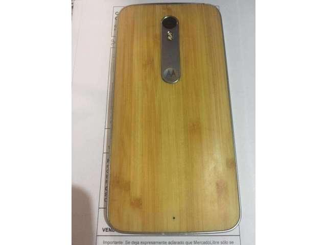 Moto X Pure Edition Bambu Madera 32gb NUEVO