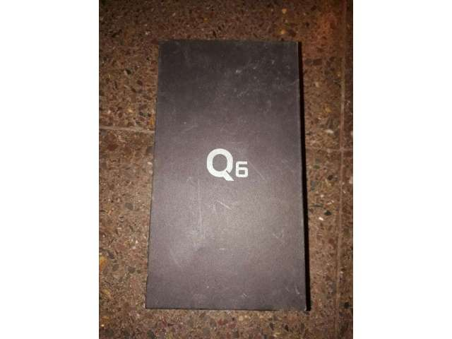 Caja de Celular Lg Q6