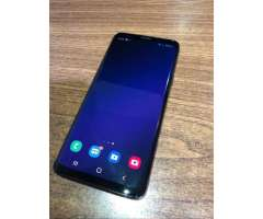 SAMSUNG GALAXY S9 LIBRE (64GB) MIDNIGHT BLACK + FUNDA