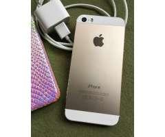 Iphone 5s-Dorado -32gigas