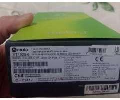Moto G6 Plus 64 GB 4 RAM NUEVO en caja NO PERMUTO ACEPTO TARJETA DE CREDITO